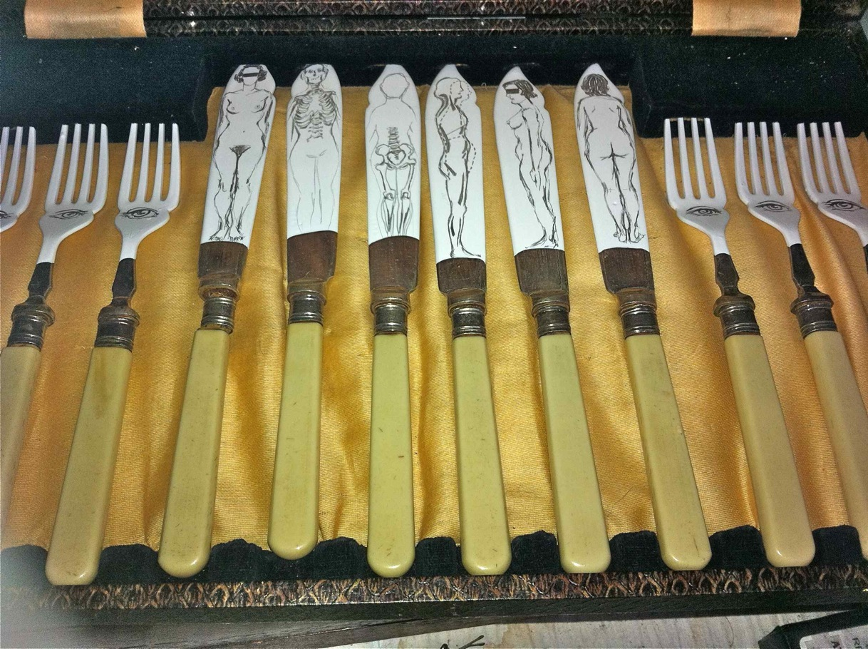 Heidi-Wigmore-untitled-cutlery-2012