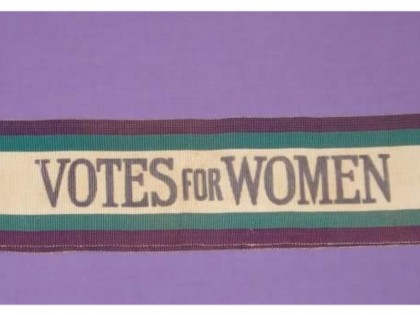 Processions: Suffragette Banner project