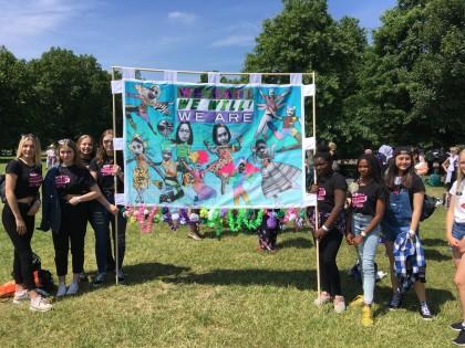 girls banner