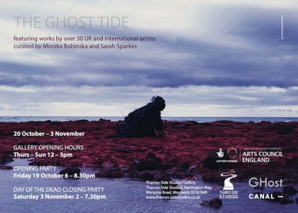 The Ghost Tide Arts Council England Funded front EFLYER