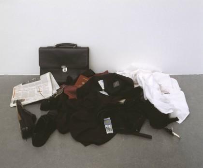 Self-Portrait as a Businessman 2002, with additions 2004 by Pawel Althamer born 1967