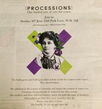 procession ad